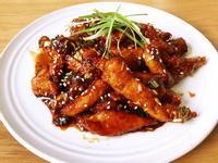日式油淋雞柳條(雞胸肉/便當菜)