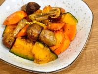 姬松茸香料烤蔬菜