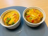 [早餐]彩椒雞胸肉杯子蛋蛋