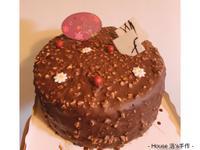 ❤️榛愛❤️(榛果巧克力金莎蛋糕)