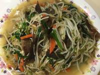 炒豆芽菜(木耳紅蘿蔔金針菇韭菜、綜合蔬菜
