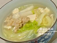 (五辛素)年糕豆腐鍋-使用新豬肉