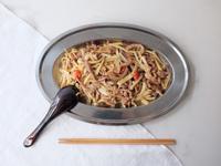 四季蓋營養#10 - 竹筍炒肉絲