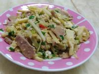 金沙鮮筍炒肉