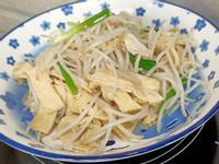 豆包炒豆芽菜