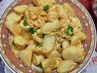 鹹蛋茭白筍