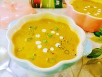 椰香玉米南瓜濃湯