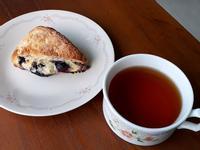 檸檬藍莓司康
