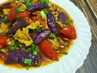 lanni 紫茄蕃茄炒蛋