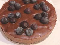 藍莓生巧克力蛋糕