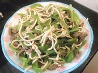 青椒牛肉炒干絲
