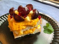 南瓜水果三明治