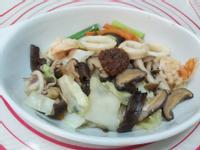 炒海鮮烏龍麵