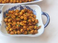薑黃炒鷹嘴豆