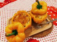 焗烤彩椒鑲肉~甜椒青椒