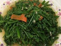 蒜油拌龍鬚菜