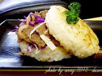 【大賀米好料理】蔥燒牛肉米漢堡