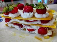 親子 草莓千層派