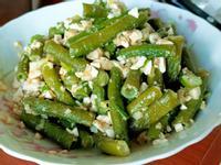 鹹蛋炒菜豆