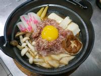 一個人晚餐-牛肉壽喜燒