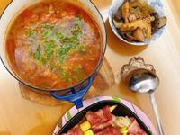 簡單料理~羅勒番茄洋蔥湯