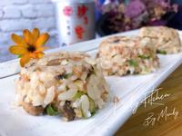 沙茶蘑菇豬肉飯餅