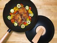 乾煎脆皮蒜粒雞排