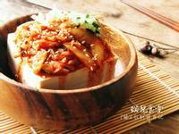 [零廚藝]韓式泡菜冷豆腐