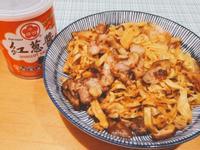 紅蔥醬炒豆皮