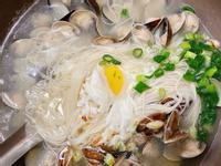鵝油蒜頭蛤蠣麵線