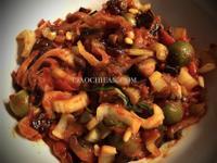 西西里涼拌茄子沙拉(Caponata)