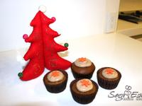 金采耶誕 - Gingerbread Cupcakes 耶誕薑餅杯子蛋糕