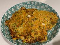 櫛瓜鮮蝦煎餅
