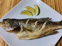 かにの鹽焗鱸魚