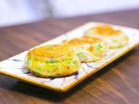 韭菜盒子(皮薄餡大,透明的餅皮)