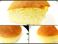 熱牛奶海綿蛋糕