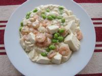 蝦仁燴豆腐