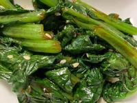 蒜拌小松菜