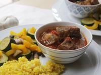 蕃茄紅燒牛腩,香氣十足的大鍋料理|壓力鍋
