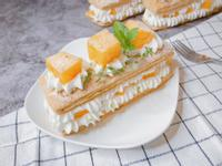 🌞夏日點心- 芒果千層酥、芒果甜點