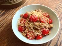 涼拌小番茄鮪魚冬粉