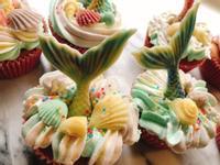 夢幻美人魚杯子蛋糕🧜♀️