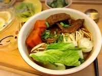 台灣經典小吃~紅燒牛肉麵