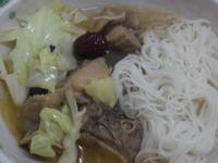 Y芬的小廚房--薑母鴨麵線
