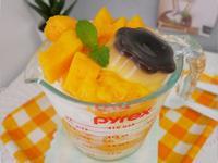 夏季限定「芒果牛奶雪花冰」好清涼~~