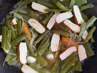 炒素食海帶根