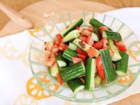 梅汁蕃茄涼拌小黃瓜
