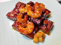 【醬燒蝦豆乾】全聯嚴選海鮮料理♥