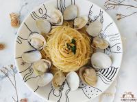 和風蛤蜊義大利麵〞一鍋到底的清炒義大利麵