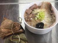 食物零浪費  沒吃完肉粽變身芋頭虱目魚粥